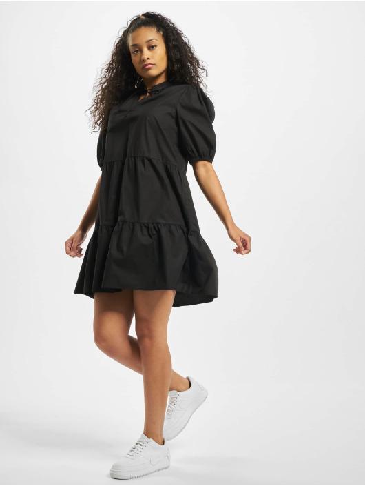 Pieces Kleid pcMarlie 2/4 Elastic schwarz