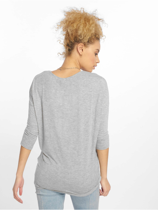 Pieces Longsleeve pcMusthave grey