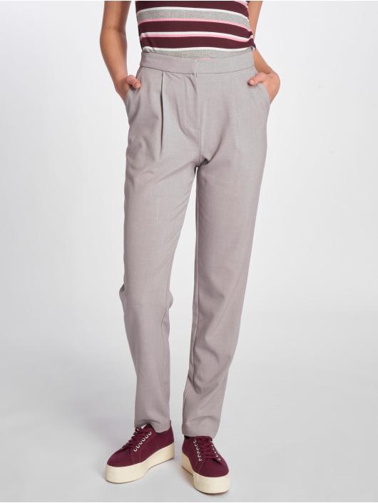 Pieces Pantalon chino pcFelina Chino Pants gris