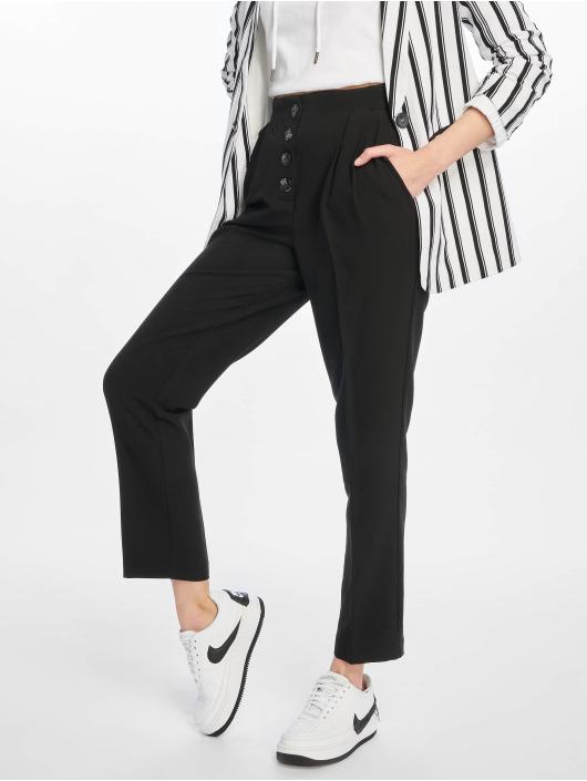 Chino Pconia Noir 598127 Pantalon Femme Pieces wP0OkX8n