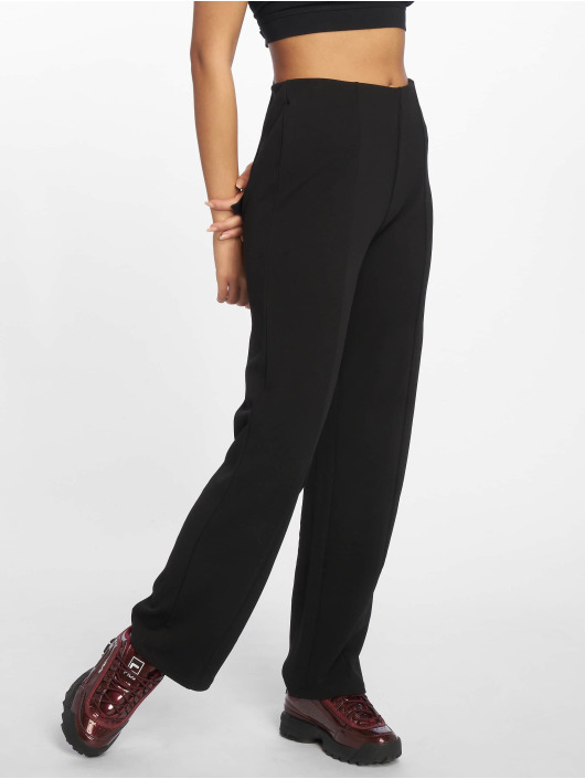 Pantalon Pieces 600745 Noir Femme Chino Pcshyla nwk0OP