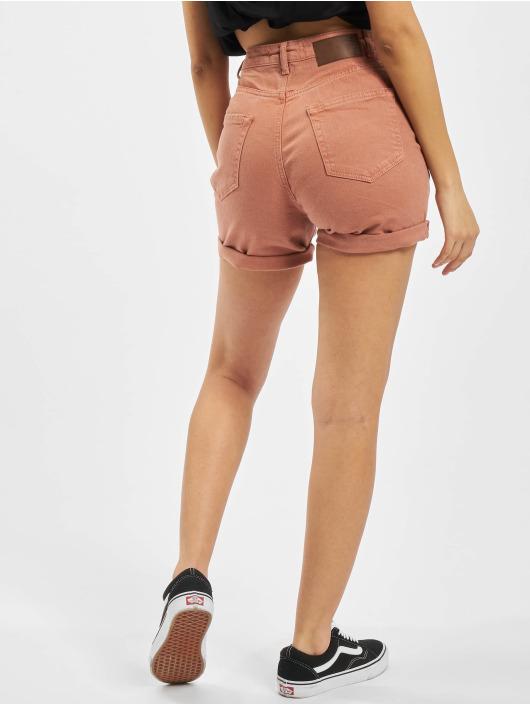 Pieces Pantalón cortos pcLeah marrón