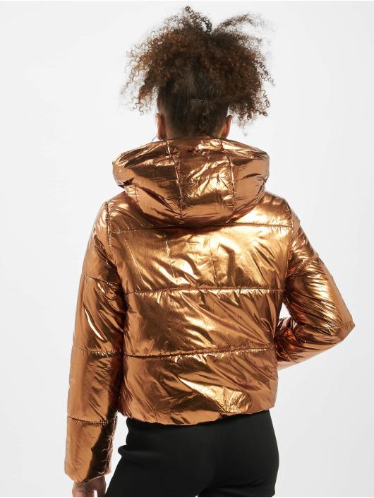 Pieces Puffer Jacket pcIlse brown
