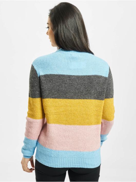 Pieces Pullover pcHelena Knit blau
