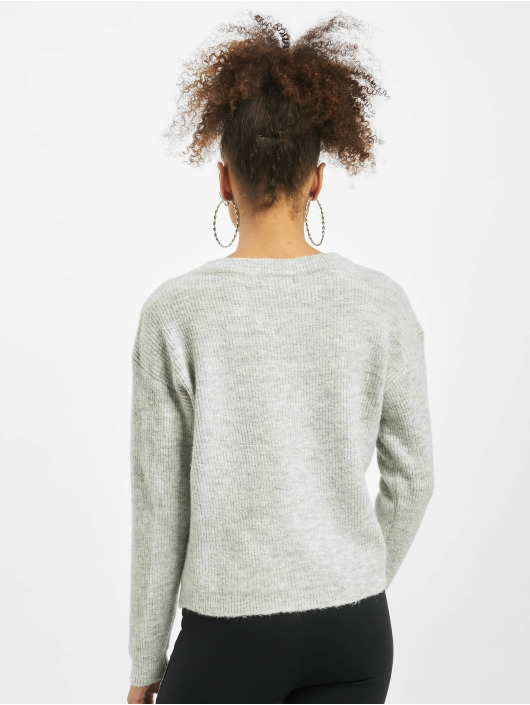 Pieces Pullover cElla Noos Knit grau