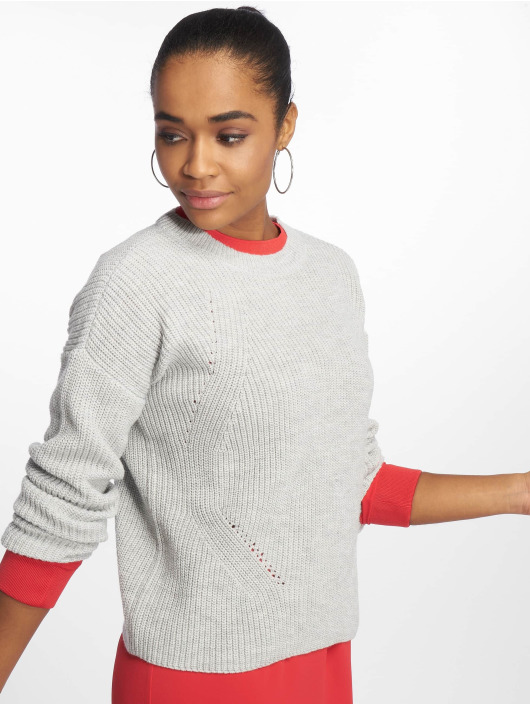 Pieces Pullover pcMarie Knit grey
