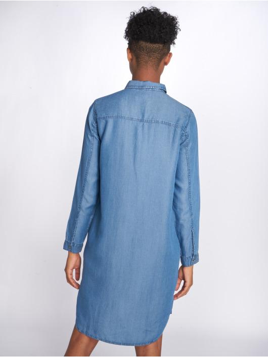 Pieces Robe pcWhy Denim bleu