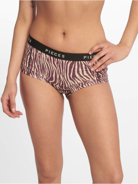 Pieces Ropa interior pcLogo beis