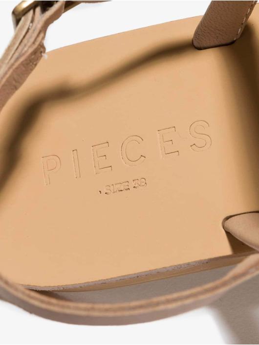 Pieces Sandalen psMiya beige