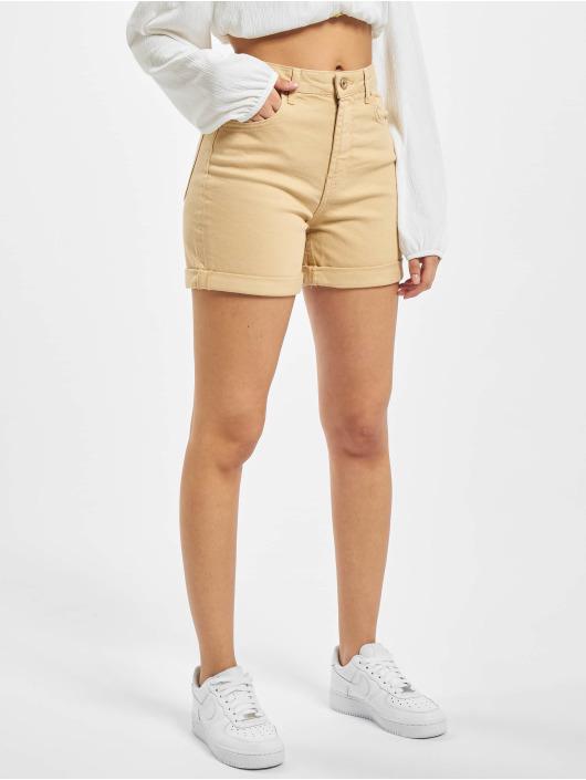 Pieces Shorts pcLeah beige