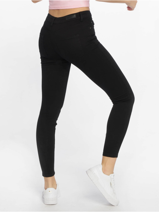 Pieces Skinny Jeans pcDelly black