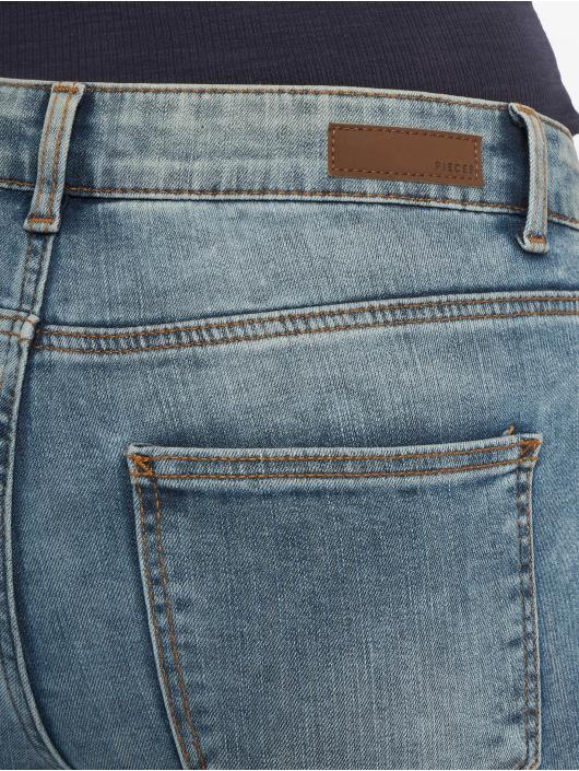 Pieces Skinny Jeans pcFive Mw blau