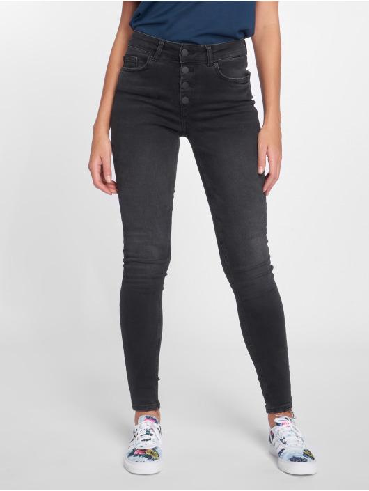 Pieces Skinny Jeans pcFive czarny