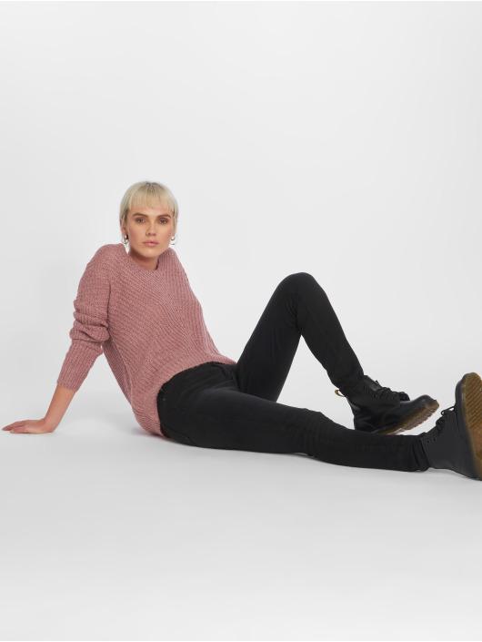 Pieces Skinny Jeans pcFive Delly B212 czarny