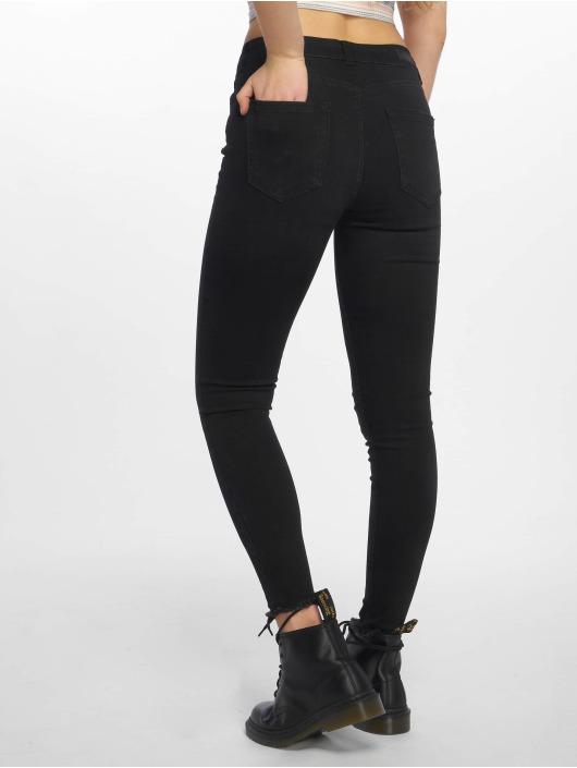 Pieces Skinny Jeans PCFive Delly schwarz