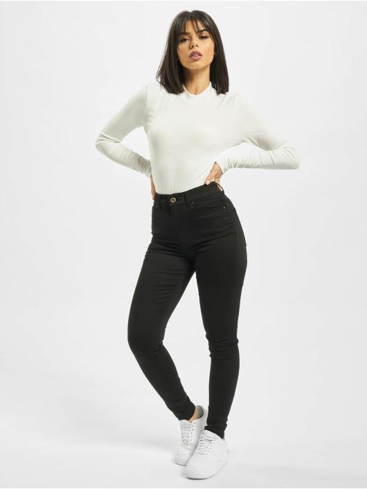 Pieces Skinny Jeans pcNora schwarz