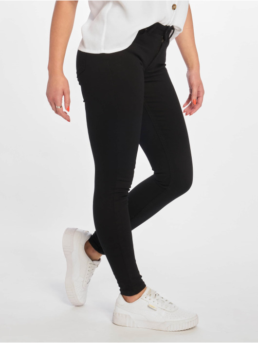 Pieces Skinny Jeans pcDelly Dlx B247 Stay Mw schwarz