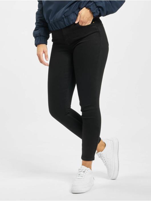 Pieces Skinny Jeans pcKamelia schwarz
