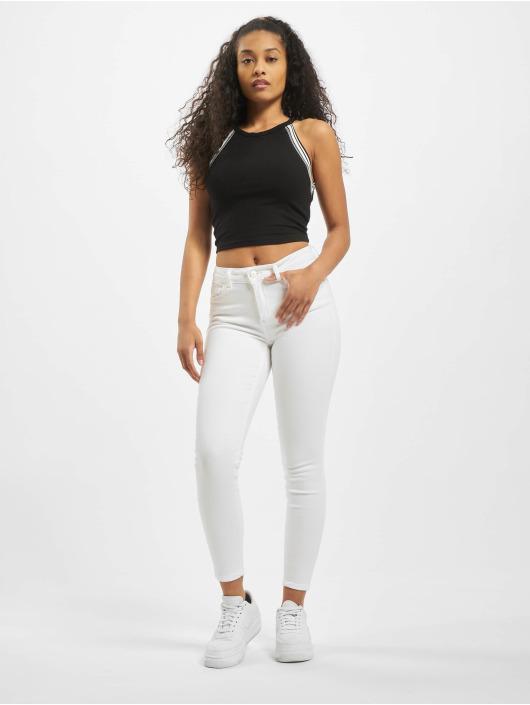Pieces Skinny Jeans pcDelly weiß