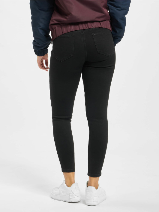 Pieces Skinny jeans pcKamelia zwart