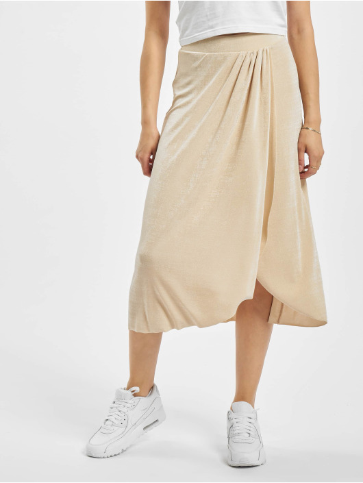 Pieces Skirt pcAlba beige