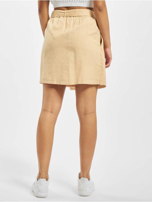 Pieces Skirt pcAlinen High Waist beige