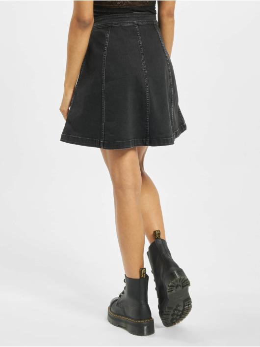 Pieces Skirt PcIris High Waist black