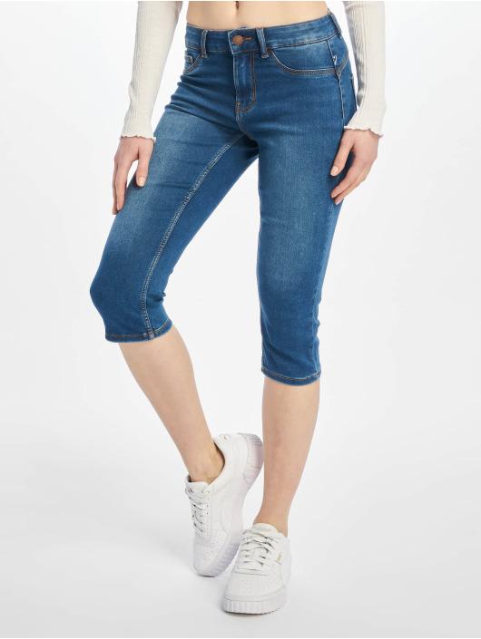 Pieces Slim Fit Jeans pcSage modrá