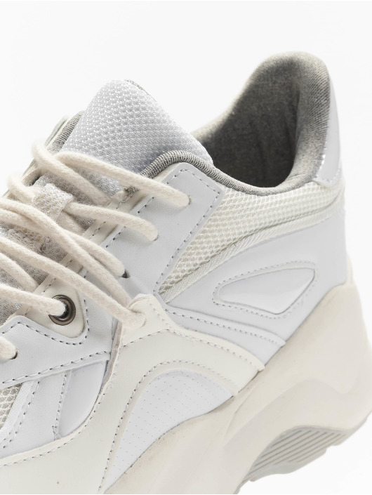 Pieces Sneakers pcChloe white