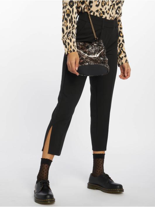Pieces Spodnie wizytowe pcBenita Medium Waist czarny
