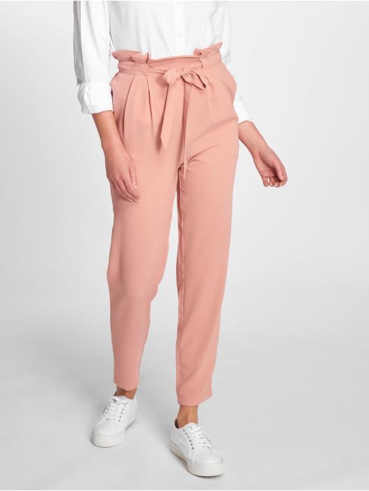Pieces Spodnie wizytowe pcTally rózowy