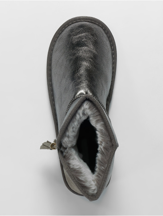 Pieces Støvler psDia grå