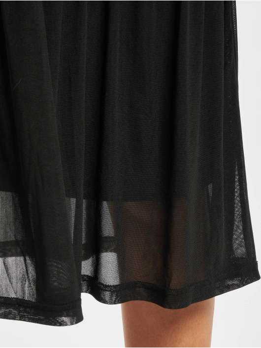 Pieces Sukienki pcAmelia Mesh czarny