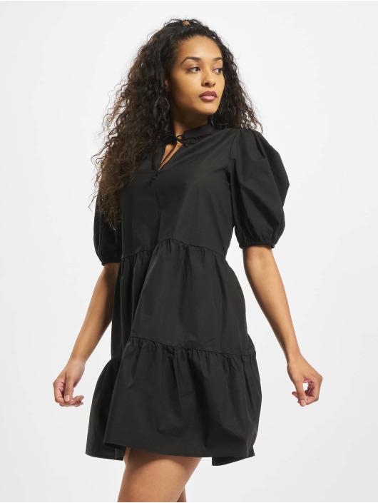 Pieces Sukienki pcMarlie 2/4 Elastic czarny