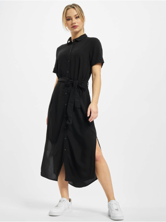 Pieces Sukienki pcCecilie czarny
