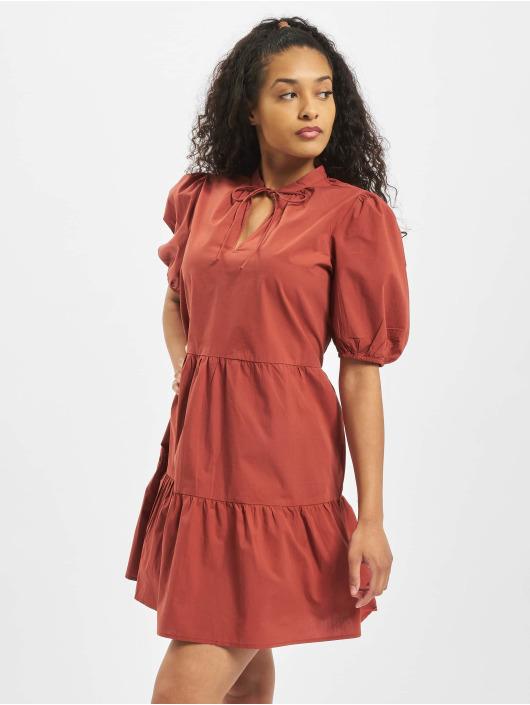 Pieces Sukienki pcMarlie 2/4 Elastic czerwony