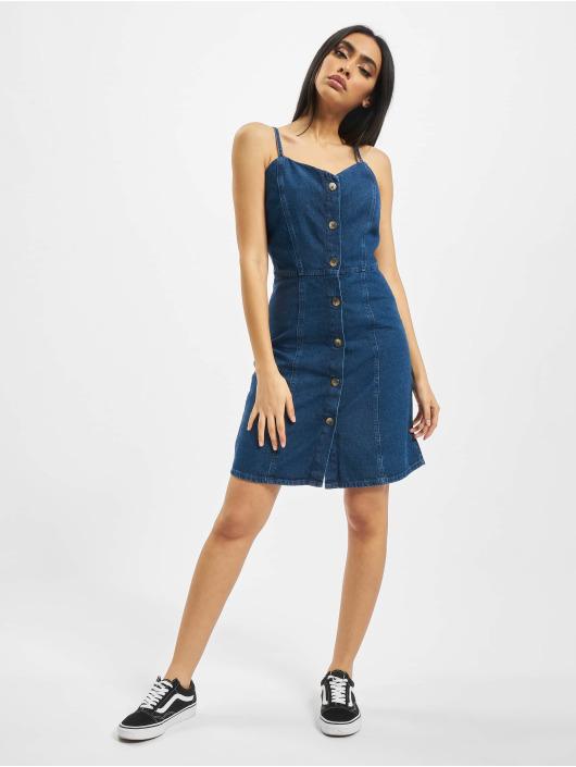 Pieces Sukienki pcMalle niebieski