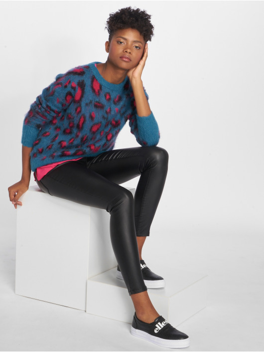 Pieces Sweat & Pull pcTate Wool bleu