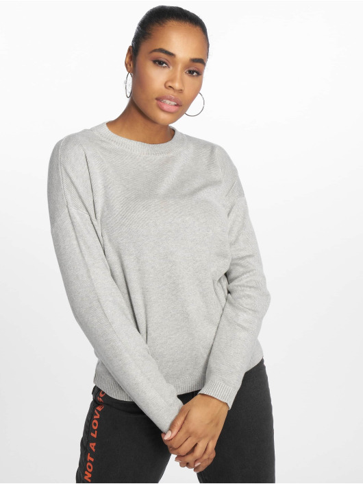 Pieces Sweat & Pull pcLisa Knit gris