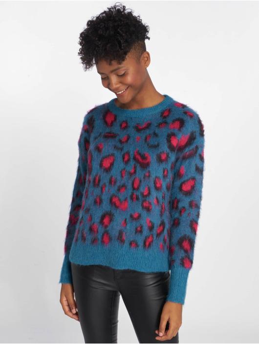 Pieces Swetry pcTate Wool niebieski