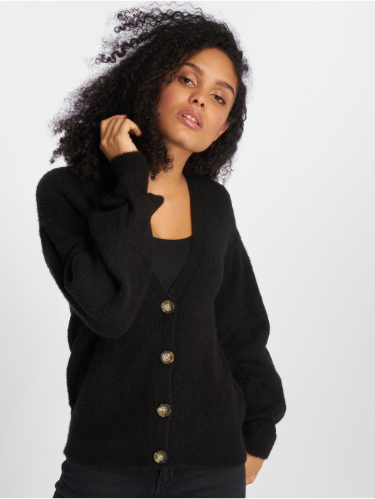 Pieces Swetry rozpinane pcTessa czarny