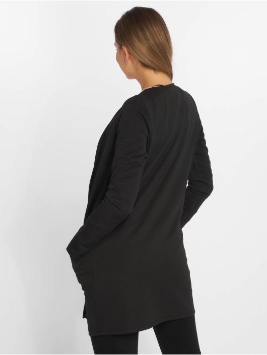 Pieces Swetry rozpinane pcTiffany czarny