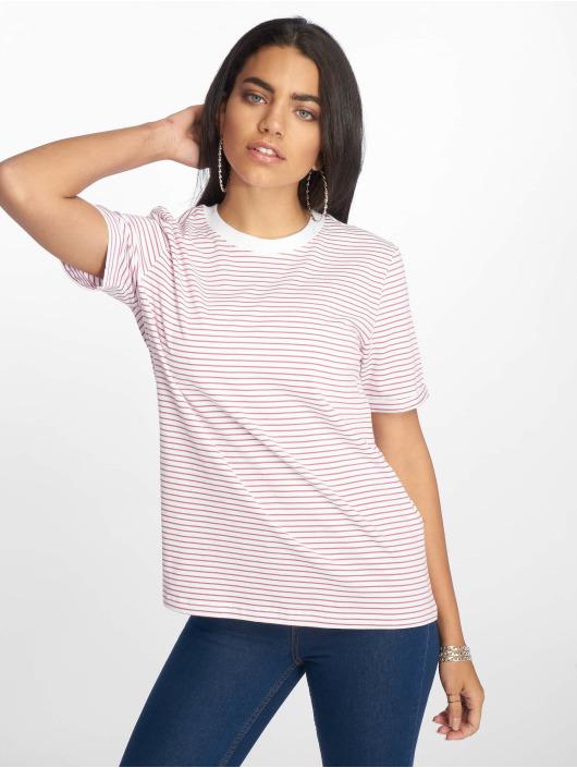 Pieces T-Shirt pcRia Fold Up blanc