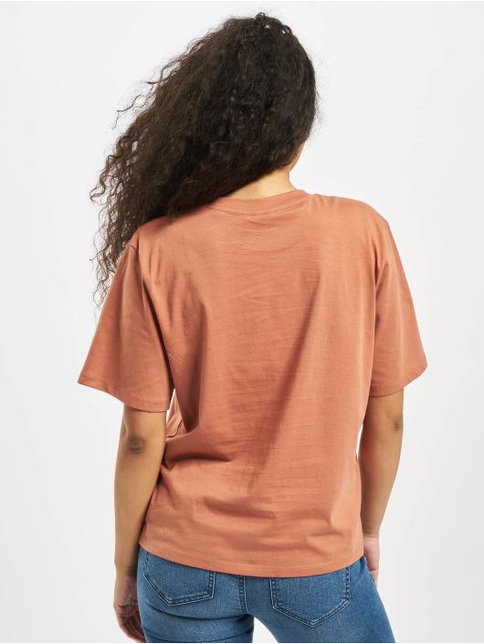 Pieces T-Shirt pcMikani Print brown