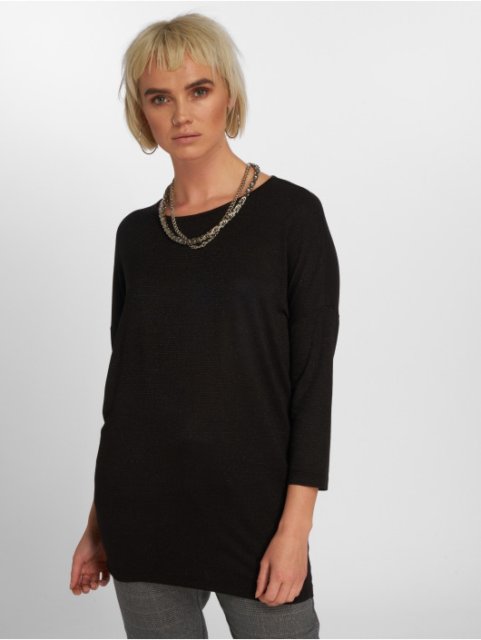521900 shirt Pieces Longues Pcminna Manches Femme Noir T lJ3TuFKc51