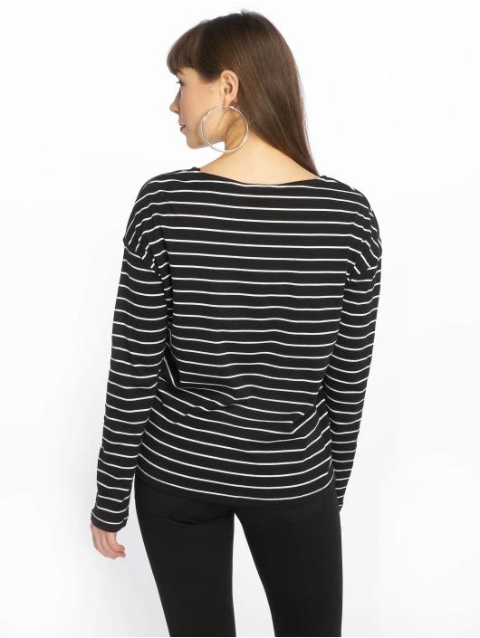 shirt T Pclibbi Manches 545686 Noir Femme Pieces Longues POiuXZTk