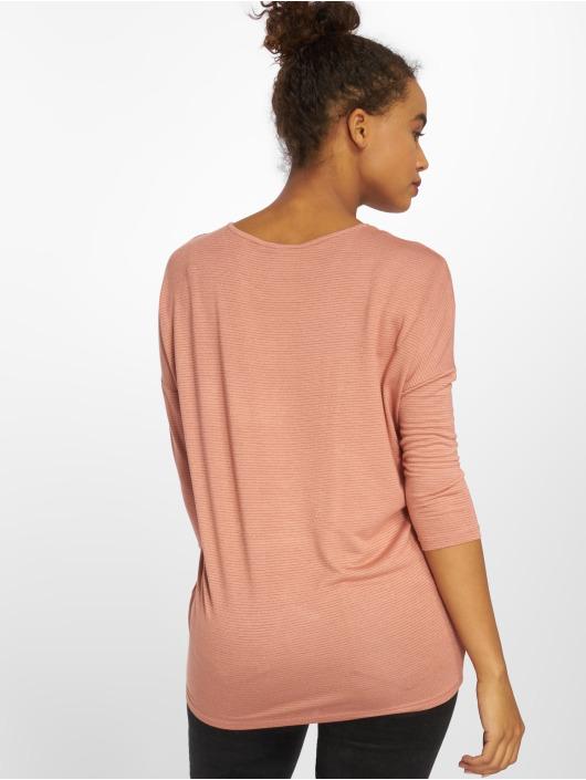 T Longues Rose Manches Pieces Femme Pcminna 521915 shirt 08nOwvmN