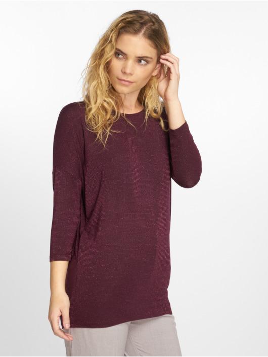 Pieces T-Shirt manches longues pcMinna 3/4 rouge