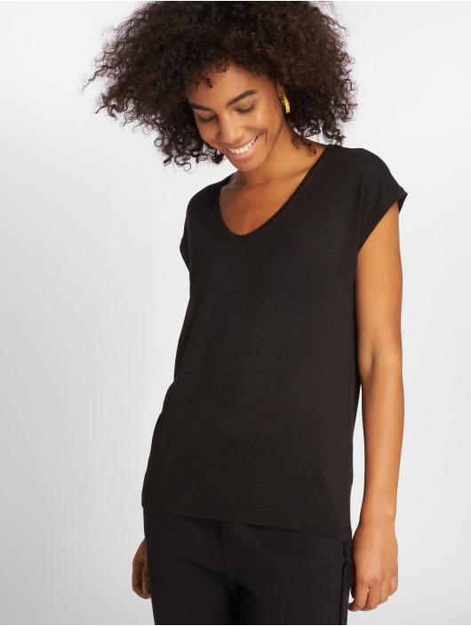 Pieces T-Shirt pcBillo Lurex Stripes noir