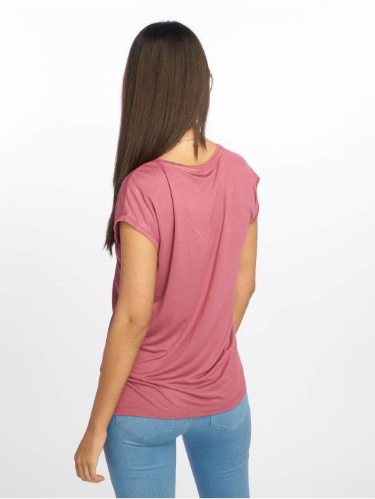 Pieces T-Shirt pcBillo Solid pourpre